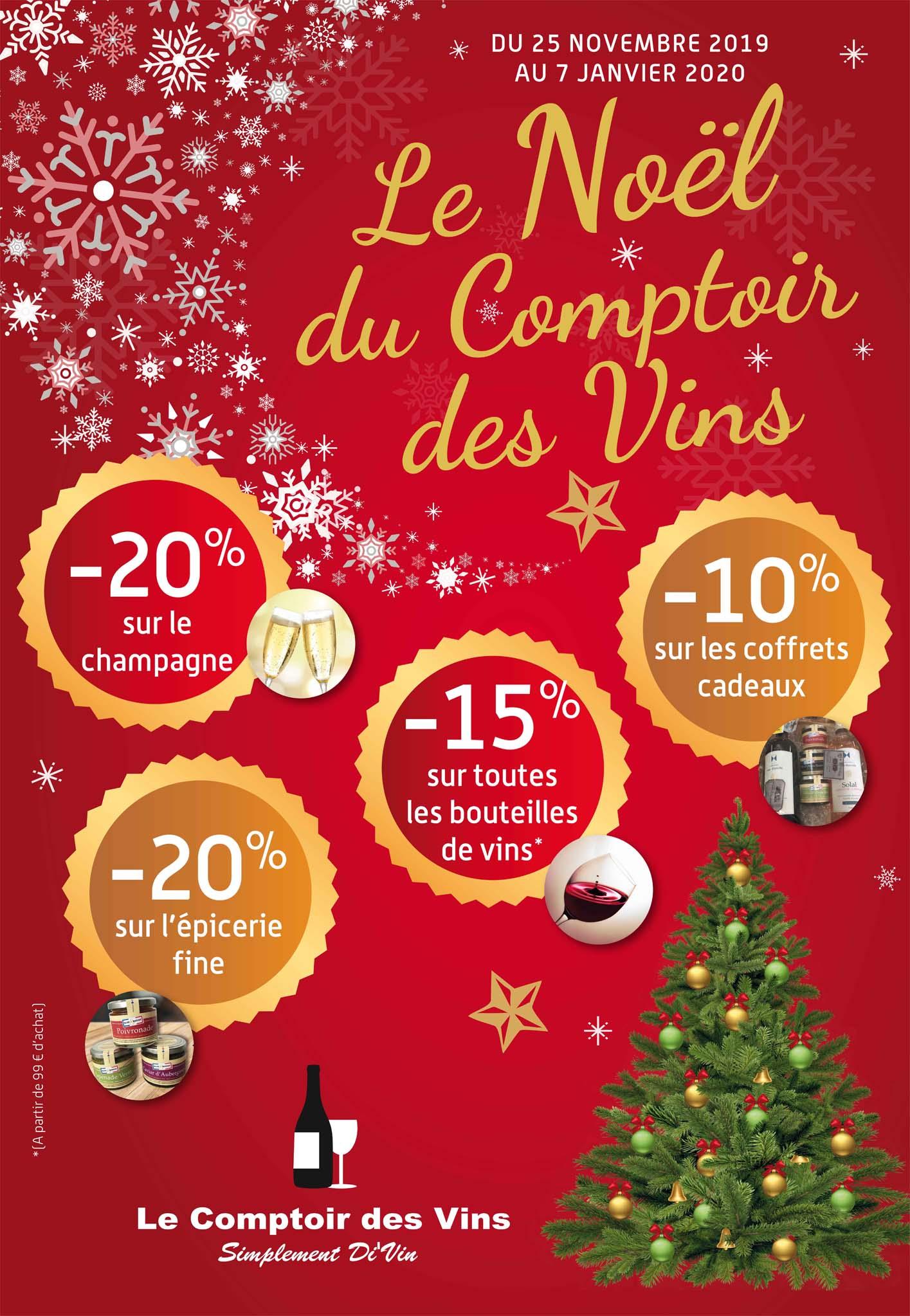 Le Noël du Comptoir des Vins